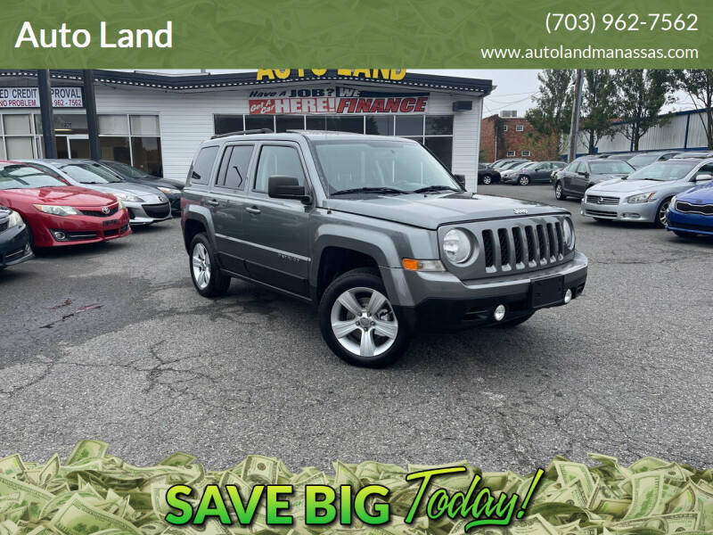 2012 Jeep Patriot for sale at Auto Land in Manassas VA