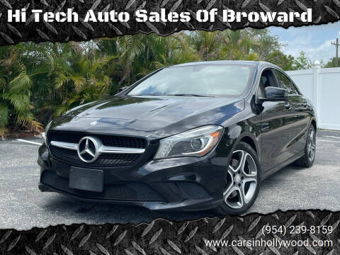 2014 Mercedes-Benz CLA for sale at Hi Tech Auto Sales Of Broward in Hollywood FL