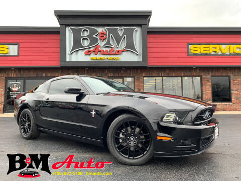 2013 Ford Mustang for sale at B & M Auto Sales Inc. in Oak Forest IL