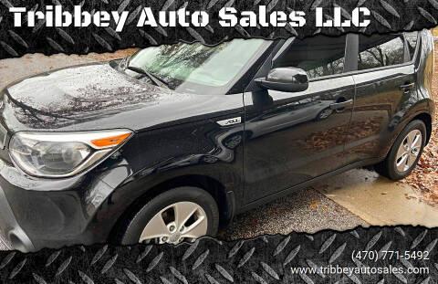 2015 Kia Soul for sale at Tribbey Auto Sales in Stockbridge GA