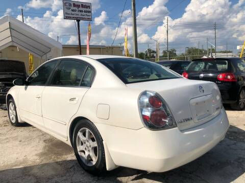 2005 Nissan Altima for sale at Mego Motors in Orlando FL