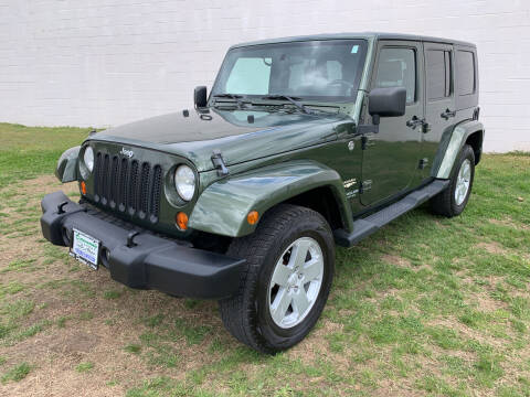 2007 Jeep Wrangler Unlimited for sale at Dawsons Auto & Cycle in Glen Burnie MD