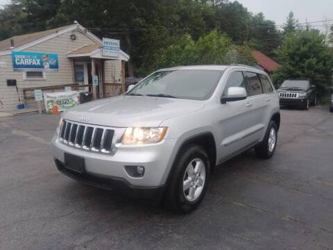 2013 Jeep Grand Cherokee for sale at Irving Auto Sales in Whitman MA