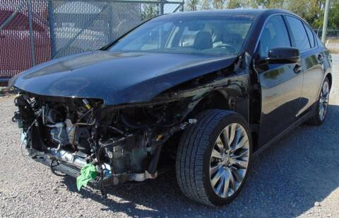 2017 Acura RLX for sale at Kenny's Auto Wrecking in Lima OH
