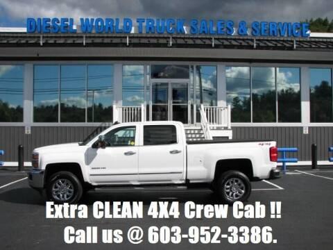 2018 Chevrolet Silverado 2500HD for sale at Diesel World Truck Sales in Plaistow NH