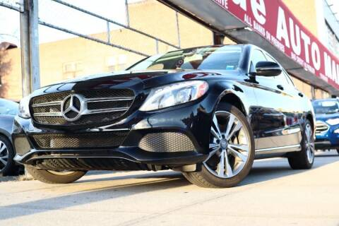 2016 Mercedes-Benz C-Class for sale at HILLSIDE AUTO MALL INC in Jamaica NY