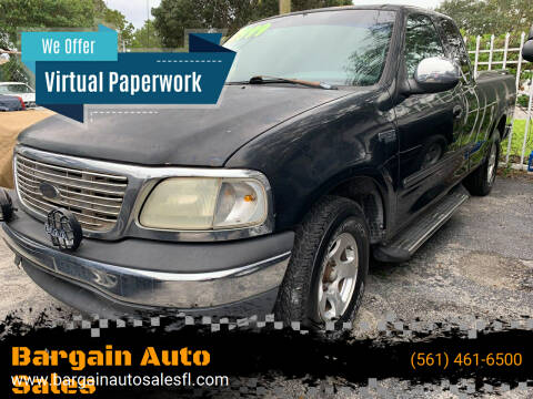 2000 Ford F-150 for sale at Bargain Auto Sales in West Palm Beach FL