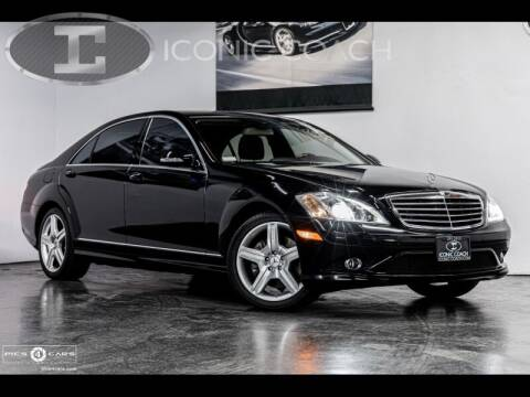 2008 Mercedes-Benz S-Class for sale at Iconic Coach in San Diego CA