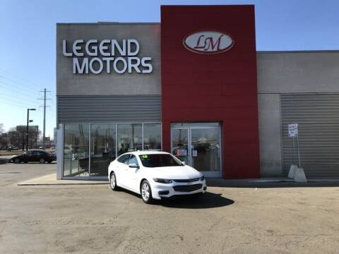 2018 Chevrolet Malibu for sale at Legend Motors of Detroit - Legend Motors of Ferndale in Ferndale MI