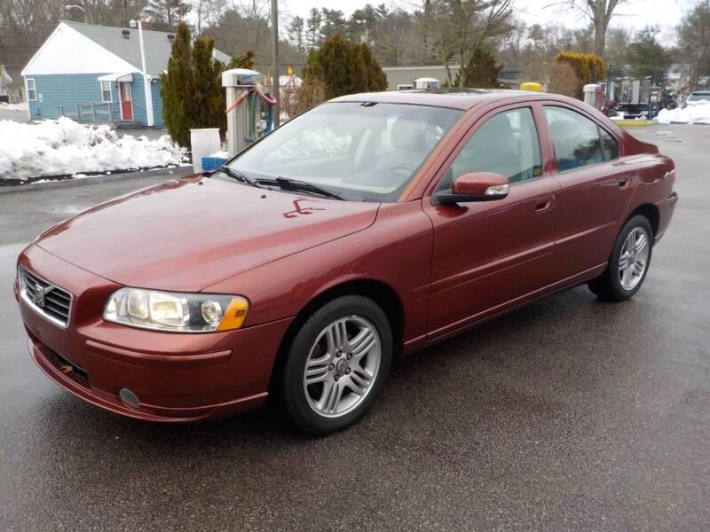 2008 Volvo S60 for sale at RTE 123 Village Auto Sales Inc. in Attleboro MA