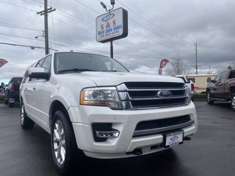 2016 Ford Expedition EL for sale at S&S Best Auto Sales LLC in Auburn WA