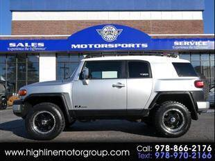 2007 Toyota FJ Cruiser for sale at Highline Group Motorsports in Lowell MA