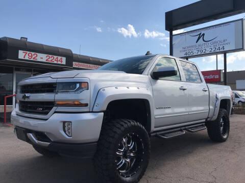 2017 Chevrolet Silverado 1500 for sale at NORRIS AUTO SALES in Oklahoma City OK