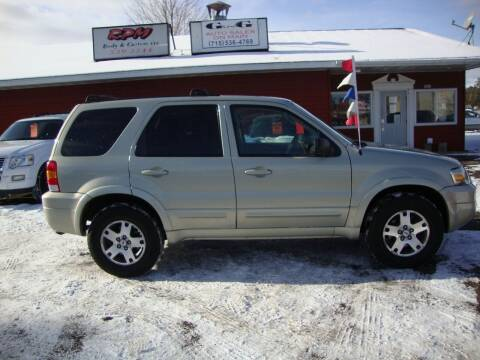 2005 Ford Escape for sale at G and G AUTO SALES in Merrill WI