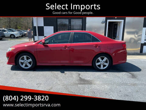 2012 Toyota Camry for sale at Select Imports in Ashland VA