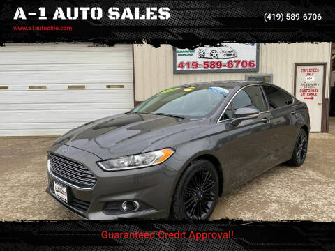 2016 Ford Fusion for sale at A-1 AUTO SALES in Mansfield OH