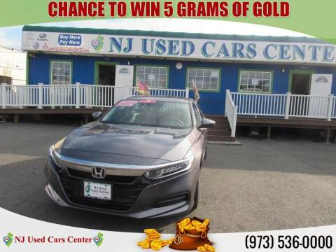 2019 Honda Accord for sale at New Jersey Used Cars Center in Irvington NJ