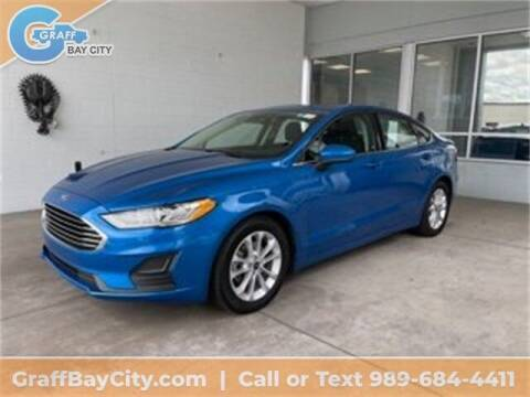 2020 Ford Fusion for sale at GRAFF CHEVROLET BAY CITY in Bay City MI