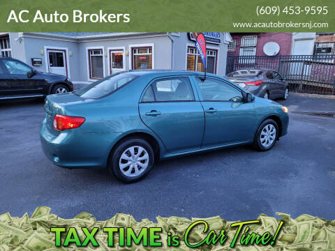 2009 Toyota Corolla for sale at AC Auto Brokers in Atlantic City NJ