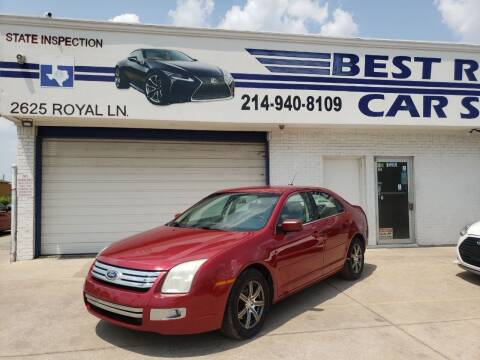 2008 Ford Fusion for sale at Best Royal Car Sales in Dallas TX