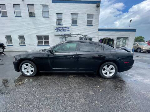 2013 Dodge Charger for sale at Lightning Auto Sales in Springfield IL