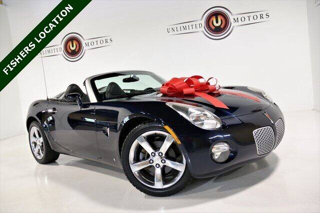 2007 Pontiac Solstice for sale at Unlimited Motors in Fishers IN