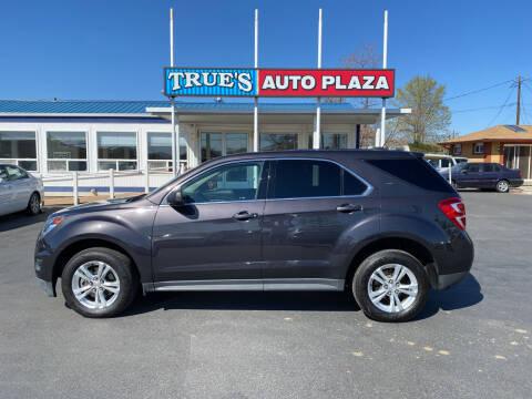 2016 Chevrolet Equinox for sale at True's Auto Plaza in Union Gap WA