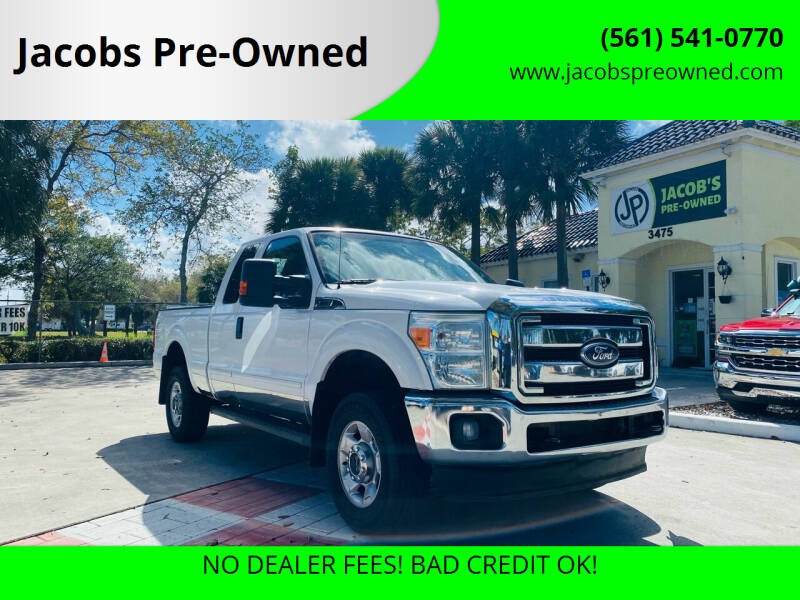 2011 Ford F-250 Super Duty for sale at Jacobs Pre-Owned in Lake Worth FL