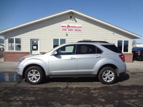 2017 Chevrolet Equinox for sale at GIBB'S 10 SALES LLC in New York Mills MN