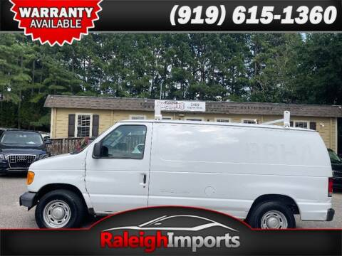 2006 Ford E-Series Cargo for sale at Raleigh Imports in Raleigh NC