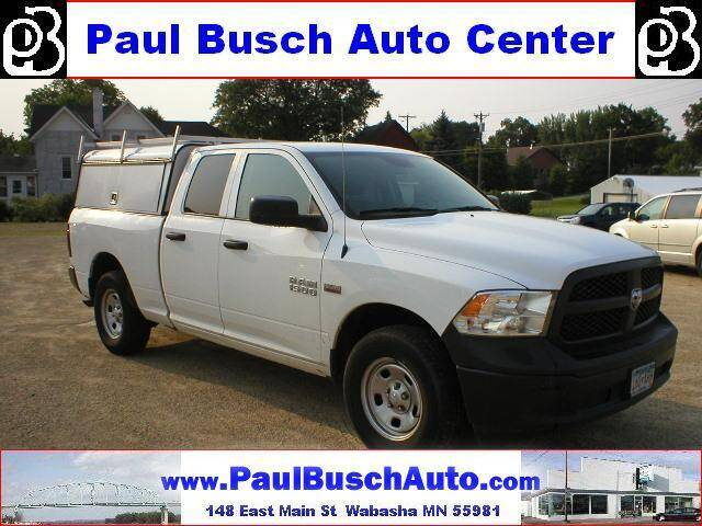 2017 RAM Ram Pickup 1500 for sale at Paul Busch Auto Center Inc in Wabasha MN