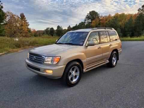 2004 Toyota Land Cruiser for sale at Apex Autos Inc. in Fredericksburg VA