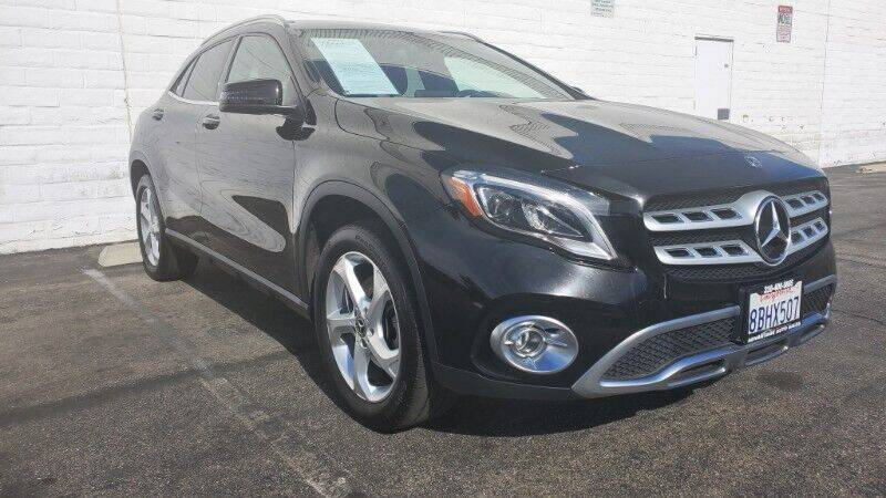 2018 Mercedes-Benz GLA for sale at ADVANTAGE AUTO SALES INC in Bell CA
