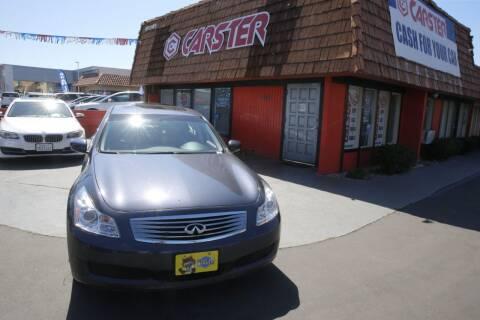2009 Infiniti G37 Sedan for sale at CARSTER in Huntington Beach CA