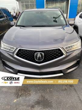 2017 Acura MDX for sale at COYLE GM - COYLE NISSAN in Clarksville IN