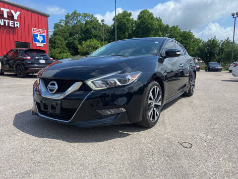 2016 Nissan Maxima for sale at Space City Auto Center in Houston TX