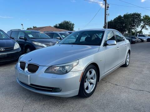 2008 BMW 5 Series for sale at CityWide Motors in Garland TX