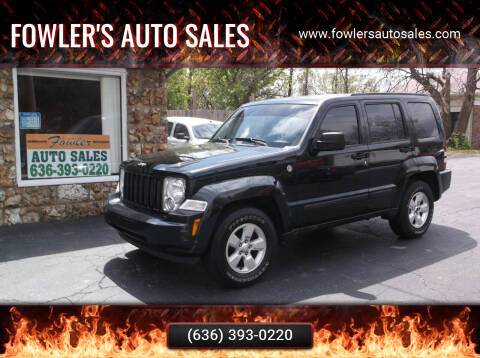 2011 Jeep Liberty for sale at Fowler's Auto Sales in Pacific MO