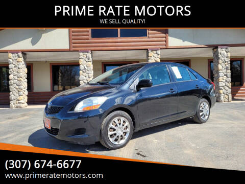 2009 Toyota Yaris for sale at PRIME RATE MOTORS in Sheridan WY