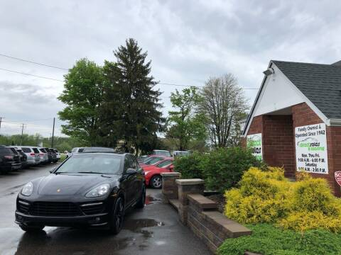 2014 Porsche Cayenne for sale at Direct Sales & Leasing in Youngstown OH
