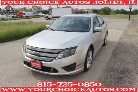 2012 Ford Fusion for sale at Your Choice Autos - Joliet in Joliet IL
