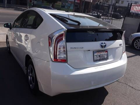 2014 Toyota Prius for sale at Western Motors Inc in Los Angeles CA