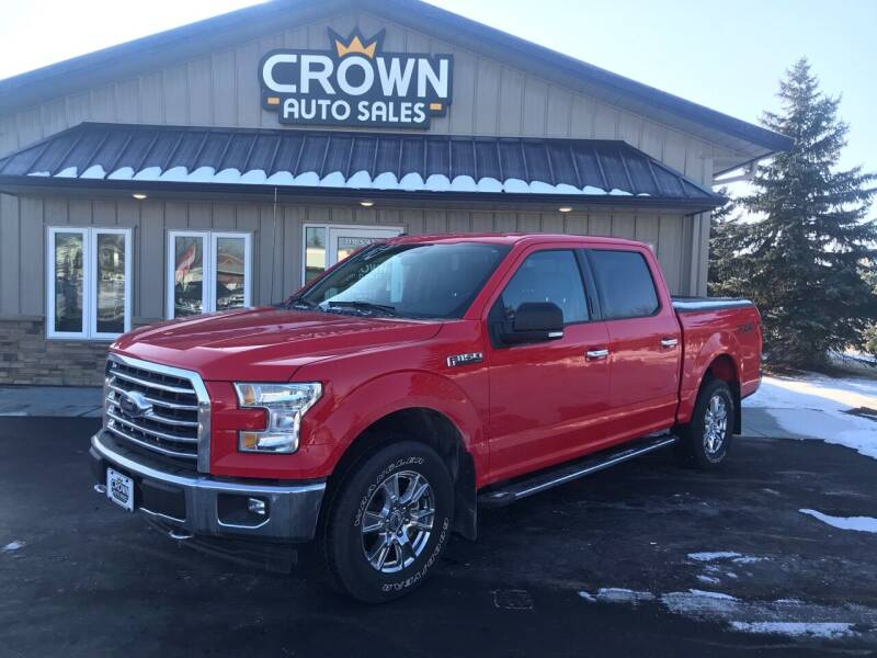 2017 Ford F-150 for sale at Crown Motor Inc in Grand Forks ND