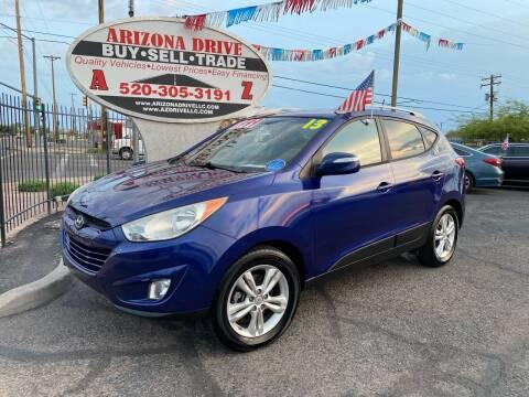 2013 Hyundai Tucson for sale at Arizona Drive LLC in Tucson AZ