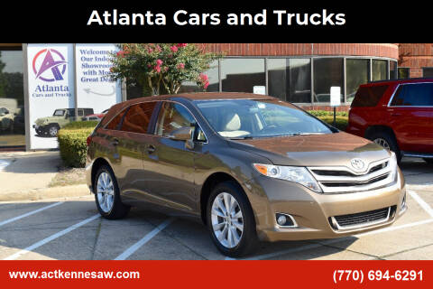2013 Toyota Venza for sale at Atlanta Cars and Trucks in Kennesaw GA