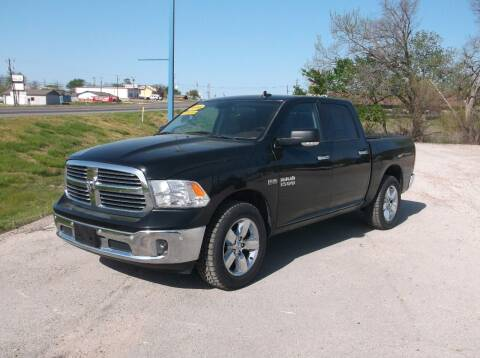 2016 RAM Ram Pickup 1500 for sale at AUTO TOPIC in Gainesville TX