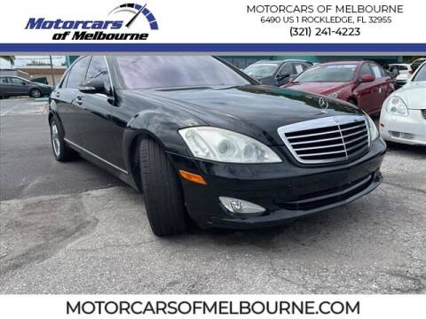 2007 Mercedes-Benz S-Class for sale at Motorcars of Melbourne in Rockledge FL
