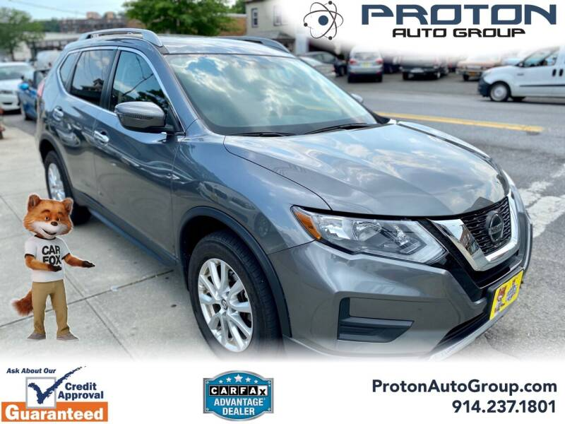 2018 Nissan Rogue for sale at Proton Auto Group in Yonkers NY