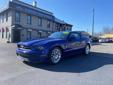 2013 Ford Mustang for sale at Sisson Pre-Owned in Uniontown PA