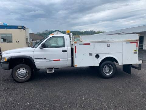 2001 Dodge Ram Pickup 3500 for sale at DirtWorx Equipment - Trucks in Woodland WA